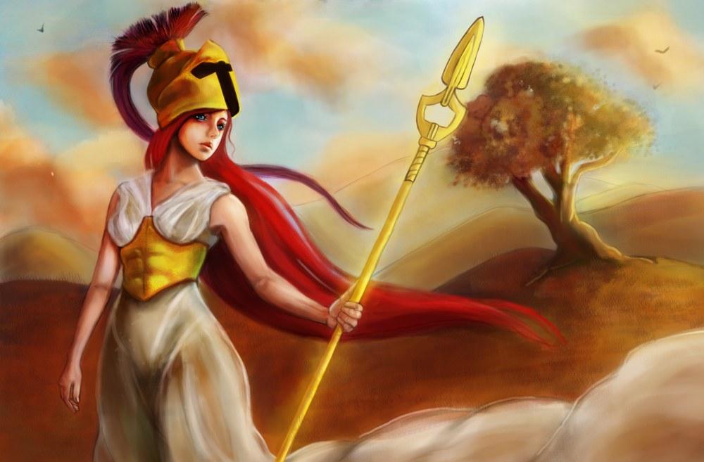 comment dessiner la déesse Athéna